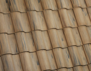 Tile Roof Work With The Wheel